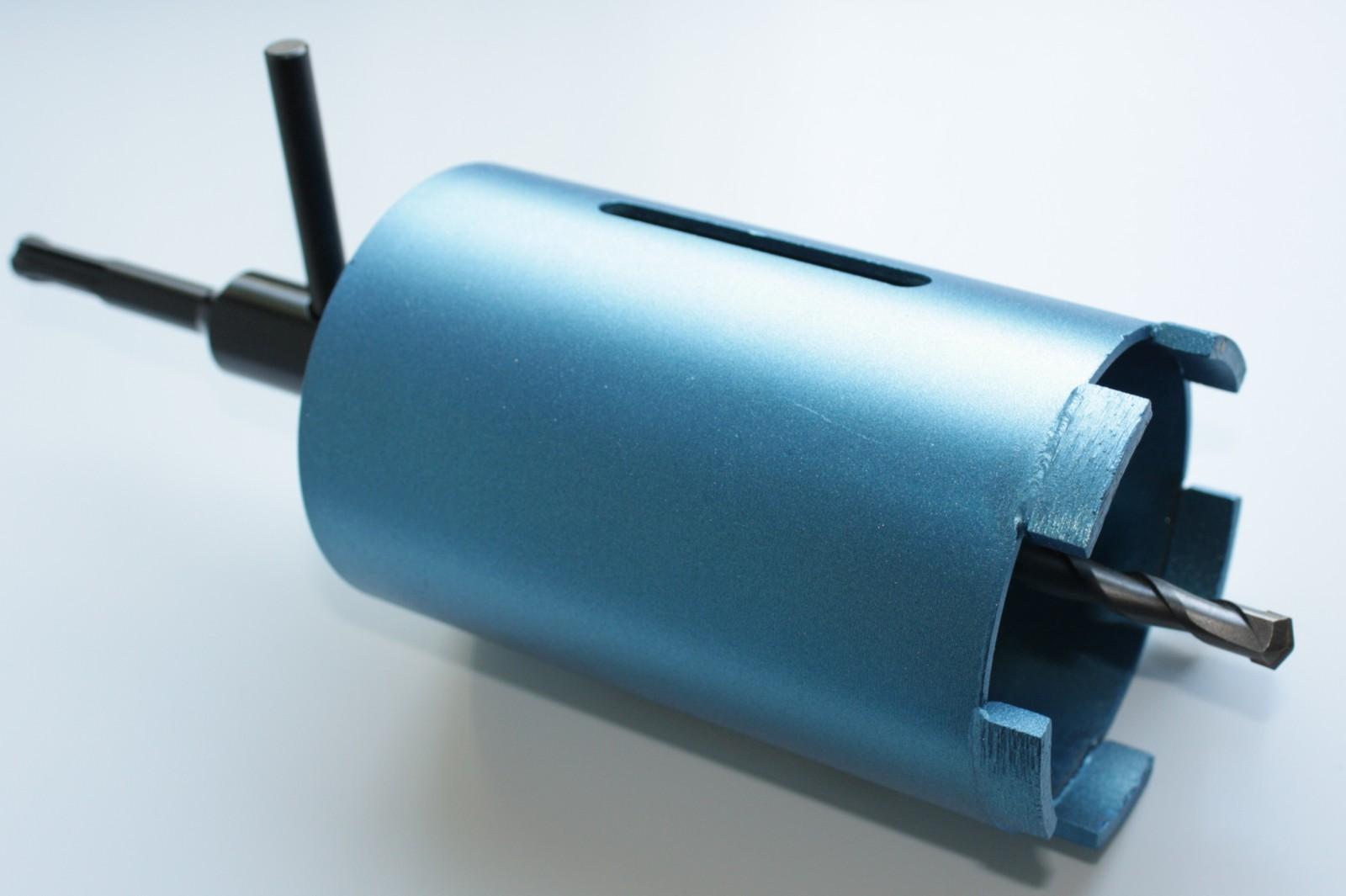 """Verlängerung 1 1//4/"""" UNC 100-500mm mit Wasserführung Diamant-Bohrkrone Kernbohrer"""